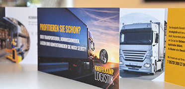 Flyer Harald Knefelkamp Logistiks